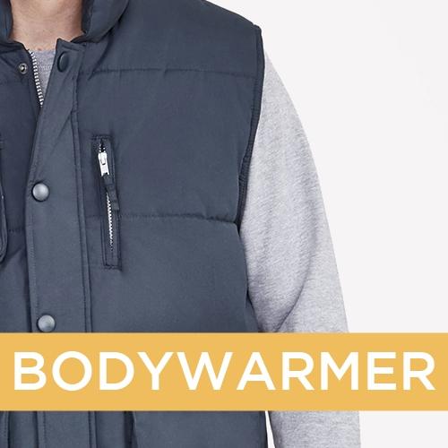 Vêtements personnalisés société - Bodywarmer personnalisé - Atelier du Quai
