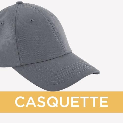 Vêtements Personnalisés Société - casquette brodée - Atelier du Quai