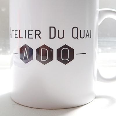 Sublimation - Mug personnalisé - Atelier du Quai