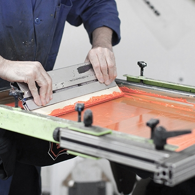 Sérigraphie textile - Atelier du Quai