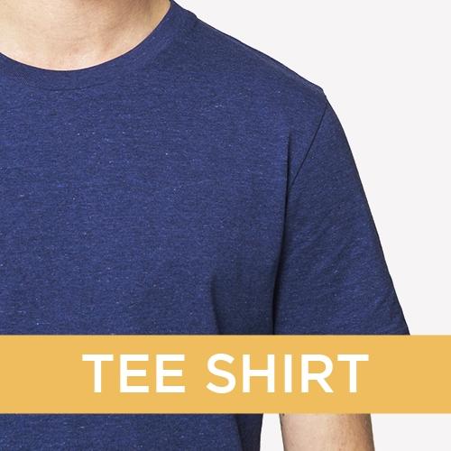 Vêtements personnalisés société - T-shirt publicitaire - Atelier du Quai